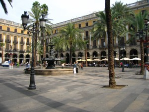 Plaza Real Barcelone