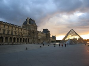 Musée du Louvre à Paris, France