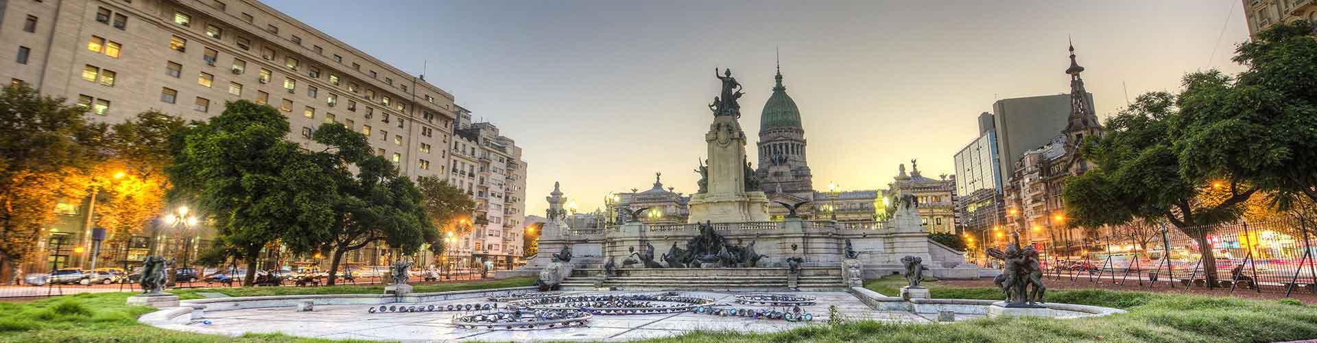 Buenos Aires - Albergues en Buenos Aires. Mapas de Buenos Aires, Fotos y Comentarios para cada Albergue en Buenos Aires.