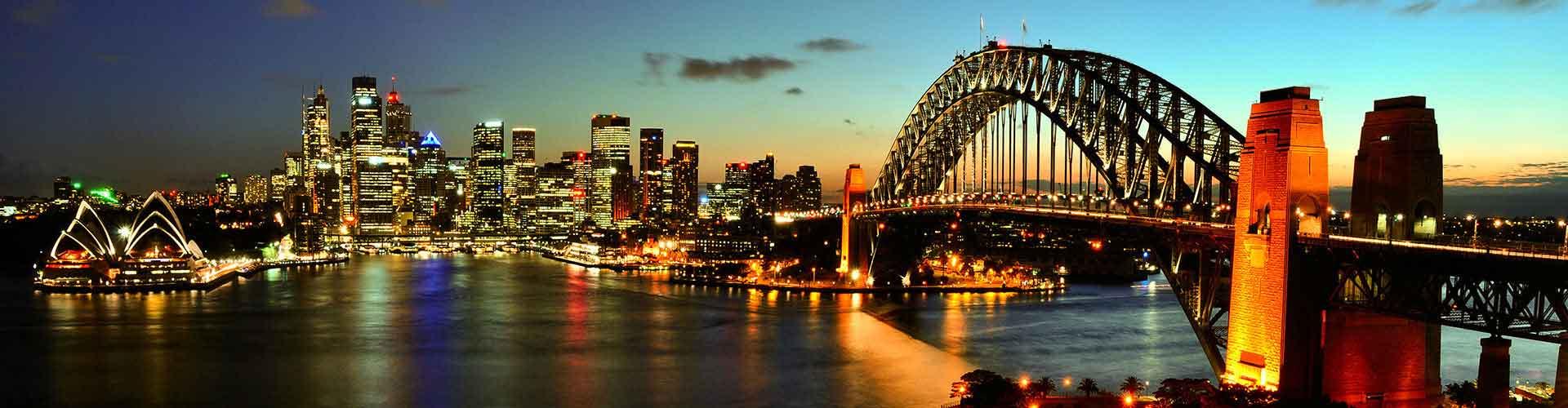 Sydney - Hoteles baratos en el distritoSydney CBD. Mapas de Sydney, Fotos y Comentarios para cada hotel en Sydney.