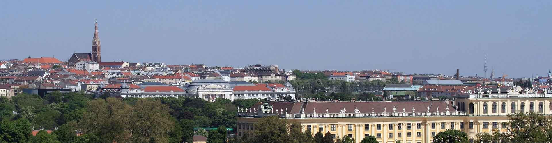Viena - Hoteles baratos en el distritoRudolfsheim-Fuenfhaus. Mapas de Viena, Fotos y Comentarios para cada hotel en Viena.
