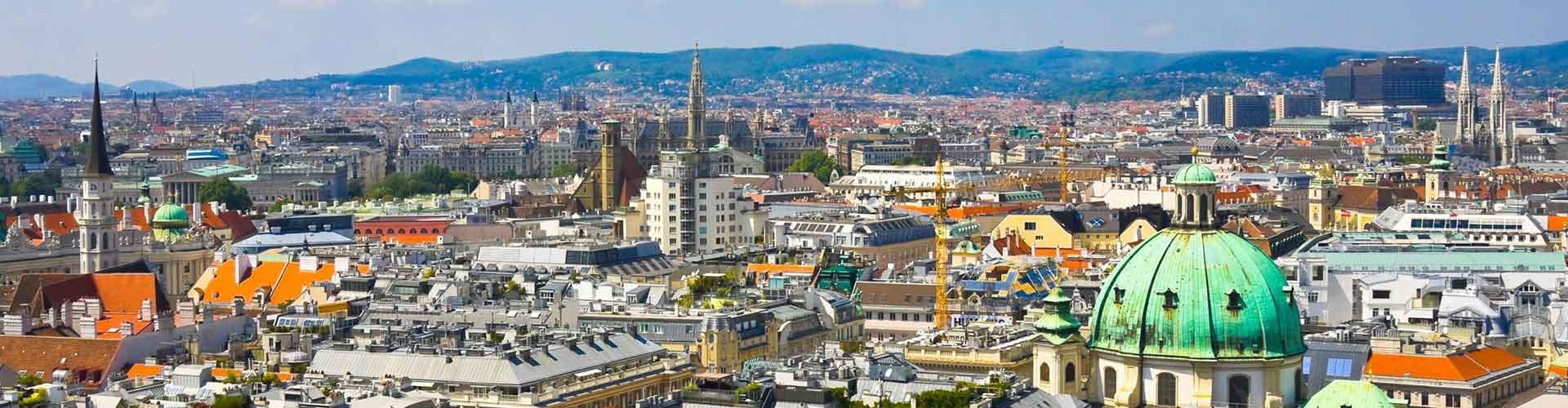 Viena - Albergues en Viena. Mapas de Viena, Fotos y Comentarios para cada Albergue en Viena.