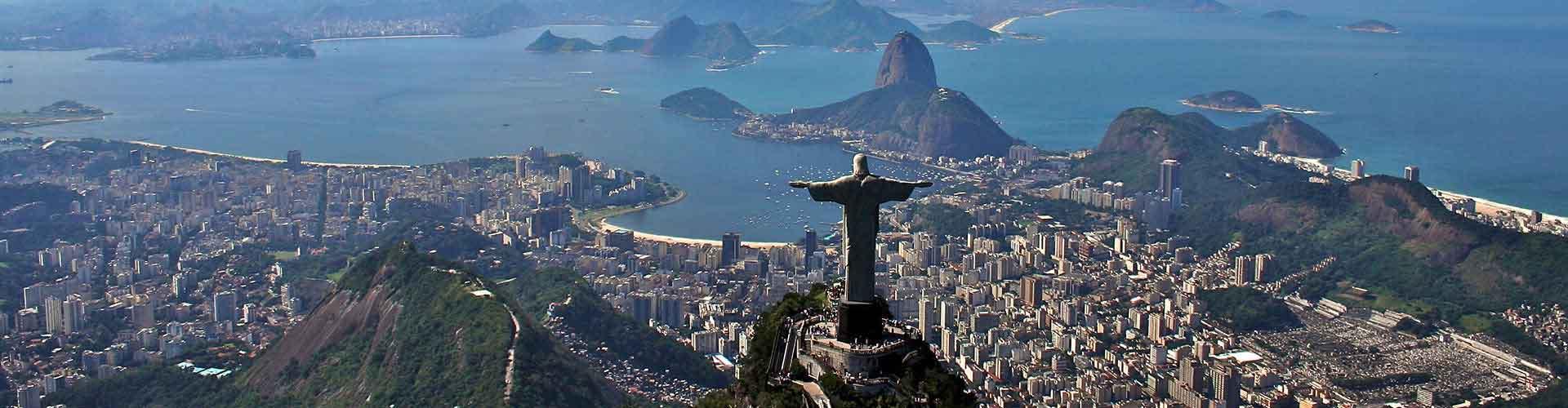 Río de Janeiro - Albergues en Río de Janeiro. Mapas de Río de Janeiro, Fotos y Comentarios para cada Albergue en Río de Janeiro.