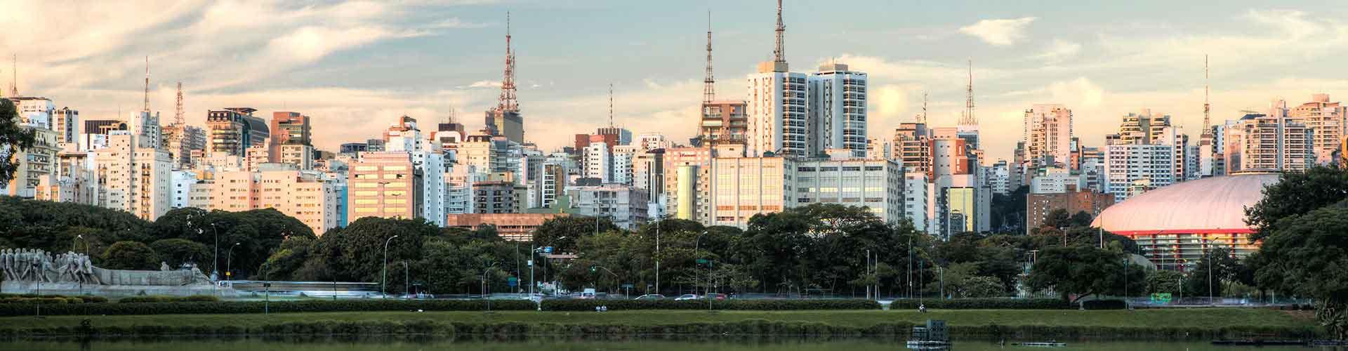 Sao Paulo - Albergues en Sao Paulo. Mapas de Sao Paulo, Fotos y Comentarios para cada Albergue en Sao Paulo.