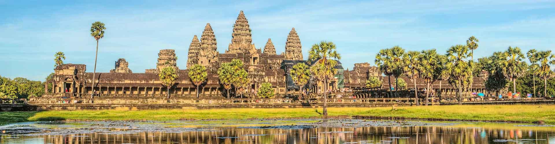 Siem Reap - Albergues en Siem Reap. Mapas de Siem Reap, Fotos y Comentarios para cada Albergue en Siem Reap.