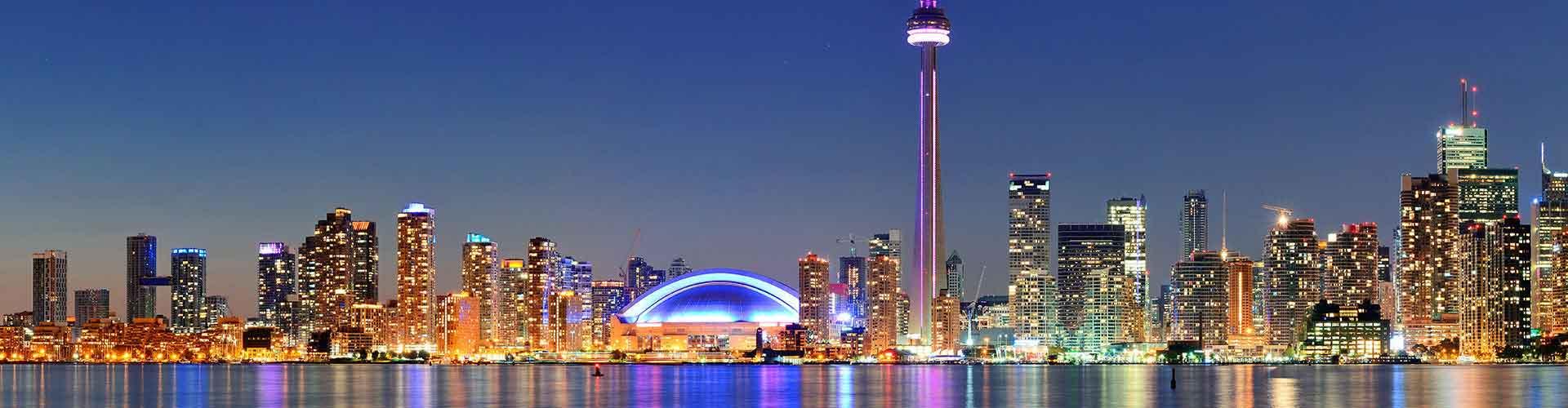 Toronto - Albergues en Toronto. Mapas de Toronto, Fotos y Comentarios para cada Albergue en Toronto.