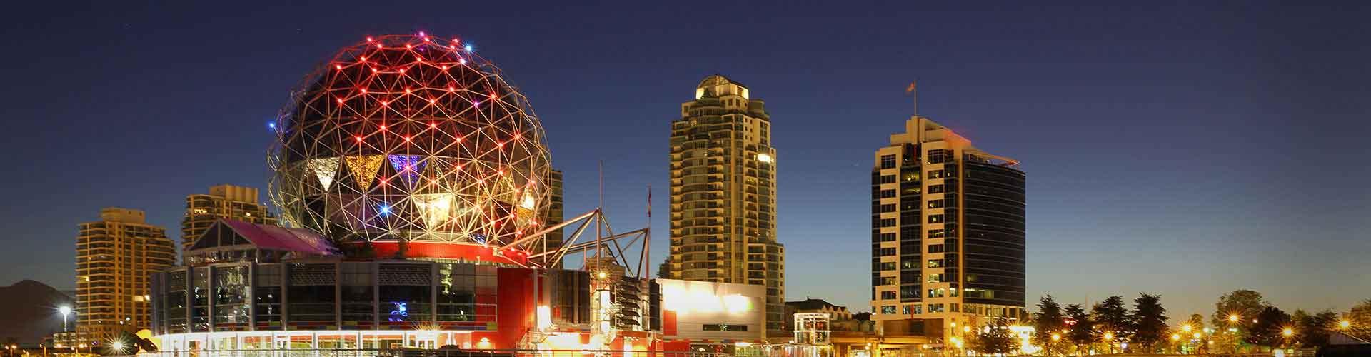 Vancouver - Albergues en Vancouver. Mapas de Vancouver, Fotos y Comentarios para cada Albergue en Vancouver.