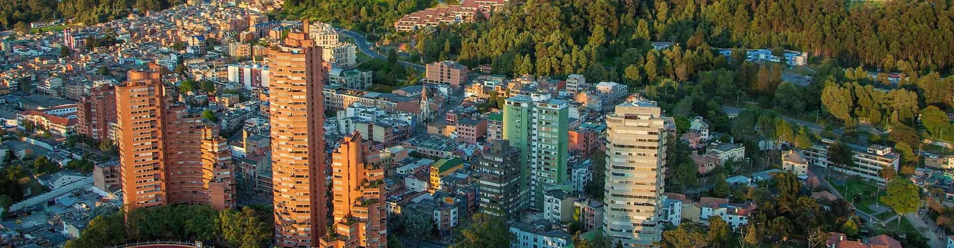 Bogotá - Albergues en Bogotá. Mapas de Bogotá, Fotos y Comentarios para cada Albergue en Bogotá.