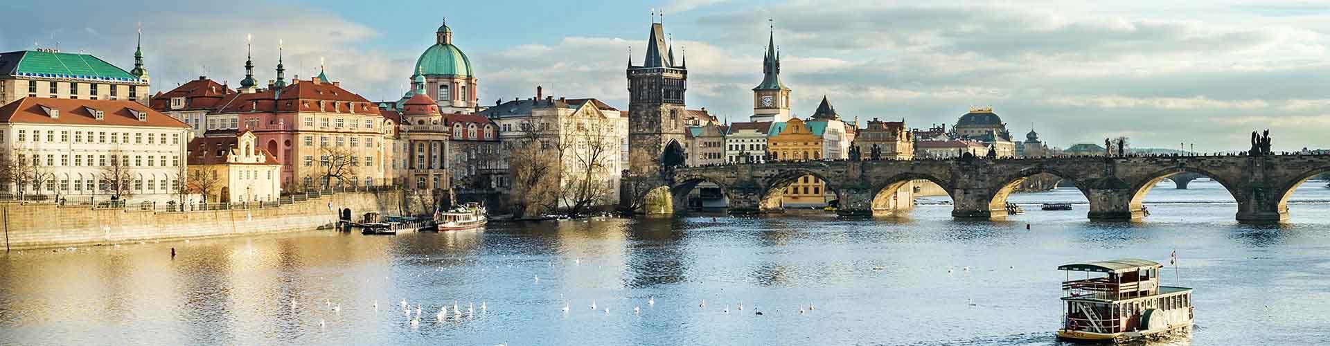 Praga - Albergues en el distrito Praga 1 . Mapas de Praga, Fotos y Comentarios para cada Albergue en Praga.