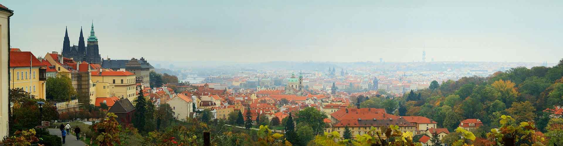 Praga - Albergues en el distrito Praga 3 . Mapas de Praga, Fotos y Comentarios para cada Albergue en Praga.