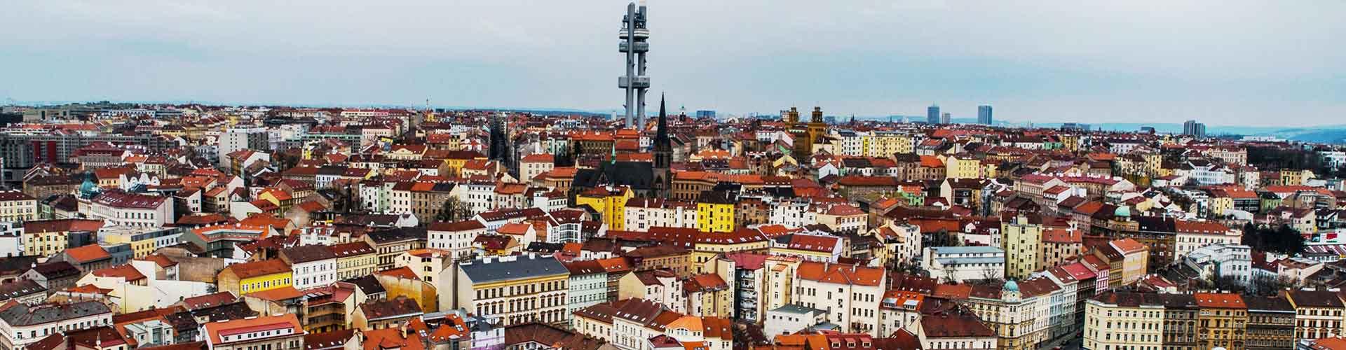 Praga - Albergues en el distrito Zizkov . Mapas de Praga, Fotos y Comentarios para cada Albergue en Praga.