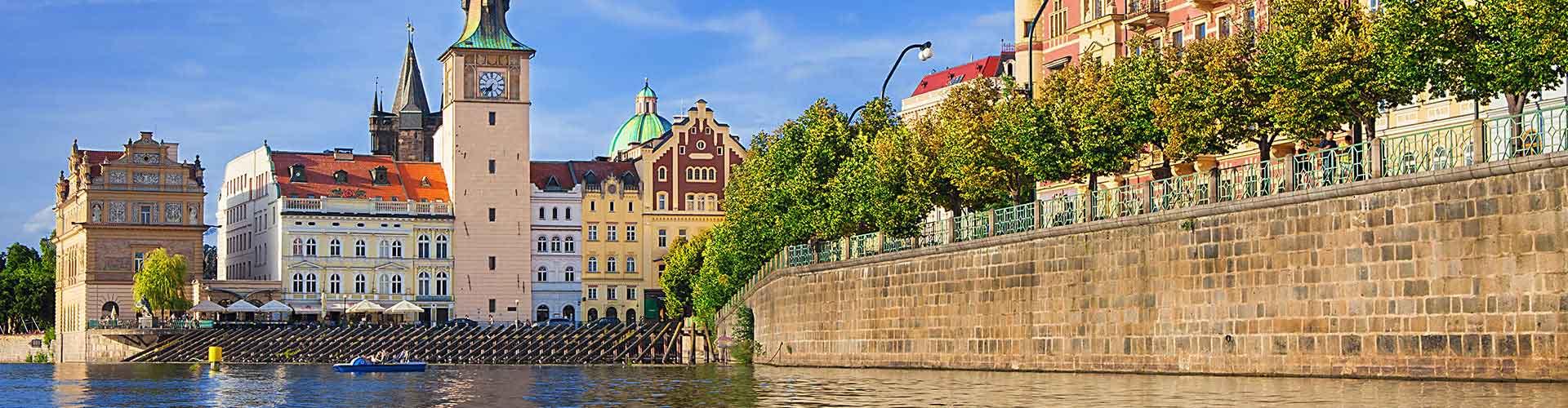 Praga - Albergues cerca a Bedrich Smetana Museum. Mapas de Praga, Fotos y Comentarios para cada Albergue en Praga.
