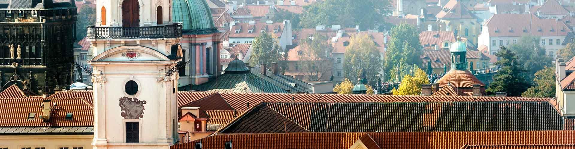 Praga - Albergues cerca a Clementinum. Mapas de Praga, Fotos y Comentarios para cada Albergue en Praga.