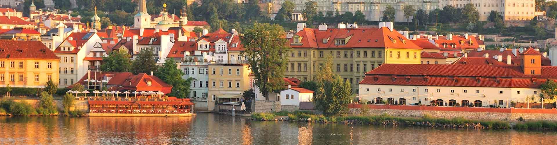 Praga - Albergues cerca a El Castillo de Praga. Mapas de Praga, Fotos y Comentarios para cada Albergue en Praga.