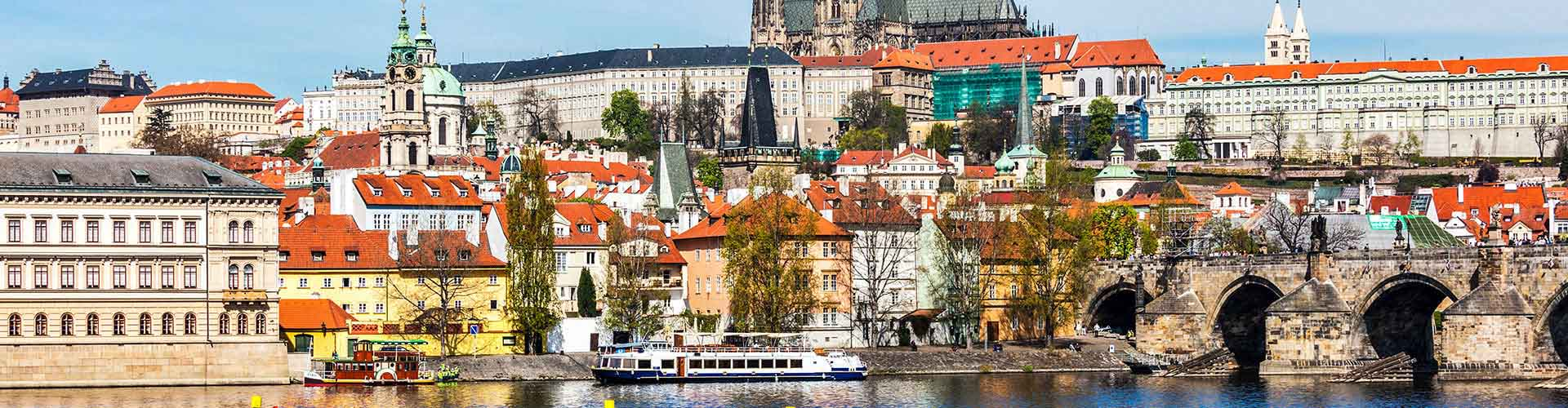 Praga - Albergues cerca a Catedral de San Vito. Mapas de Praga, Fotos y Comentarios para cada Albergue en Praga.