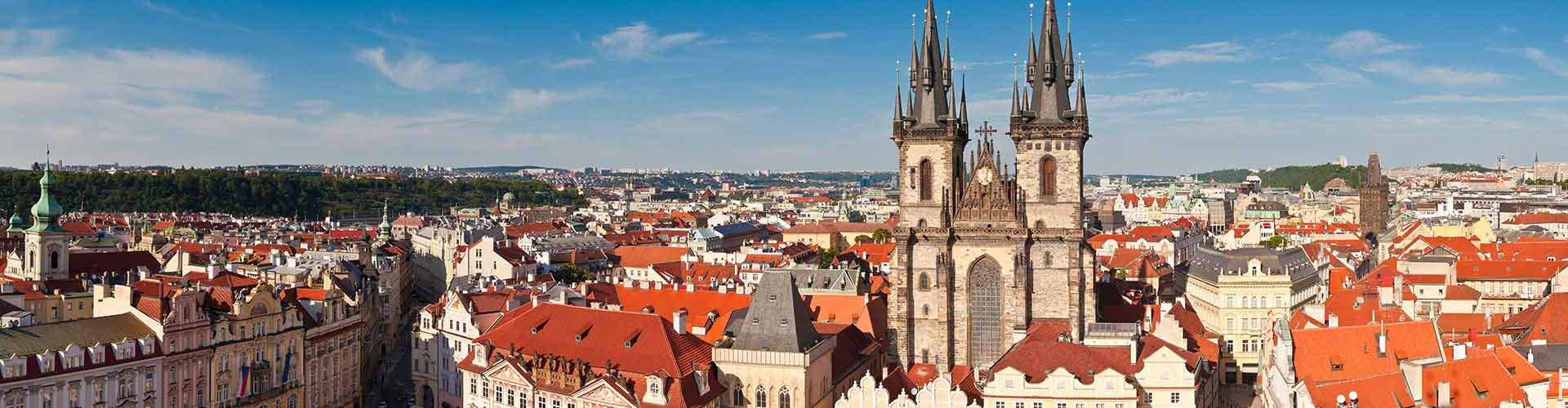 Praga - Albergues cerca a Iglesia de Tyn. Mapas de Praga, Fotos y Comentarios para cada Albergue en Praga.