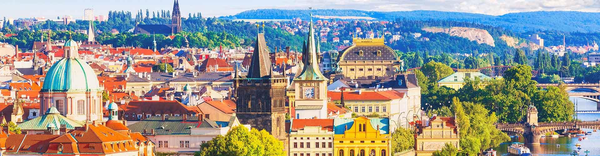 Praga - Albergues en el distrito Vysehrad . Mapas de Praga, Fotos y Comentarios para cada Albergue en Praga.