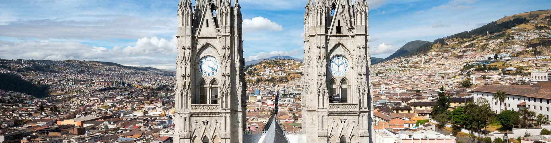 Quito - Albergues en Quito. Mapas de Quito, Fotos y Comentarios para cada Albergue en Quito.