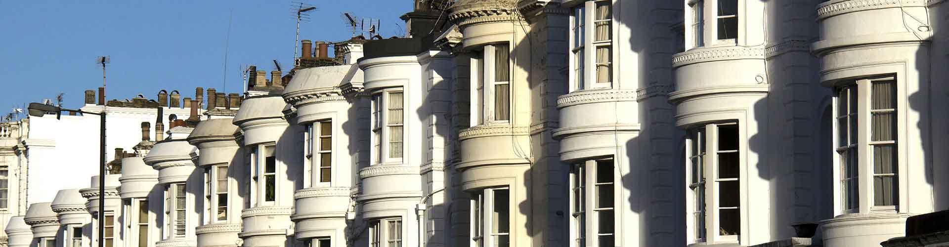Londres - Albergues en el distrito Bayswater . Mapas de Londres, Fotos y Comentarios para cada Albergue en Londres.