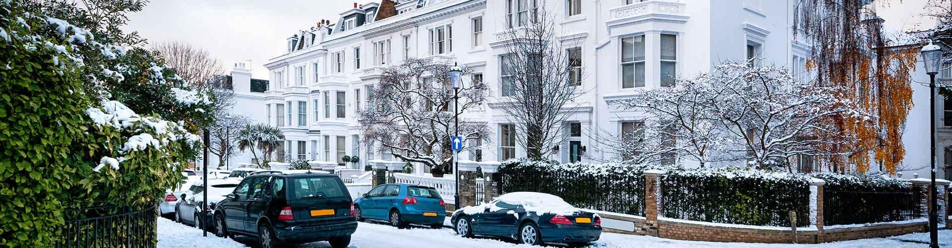 Londres - Albergues en el distrito Municipio de Kensington y Chelsea . Mapas de Londres, Fotos y Comentarios para cada Albergue en Londres.