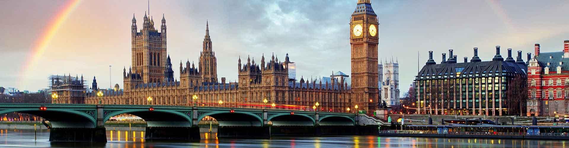 Londres - Albergues en el distrito Término municipal de Westminster . Mapas de Londres, Fotos y Comentarios para cada Albergue en Londres.