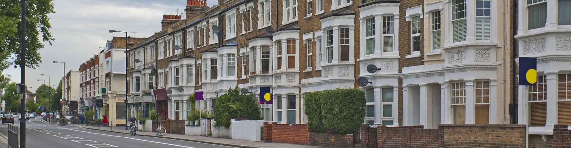Londres - Albergues en el distrito Fulham . Mapas de Londres, Fotos y Comentarios para cada Albergue en Londres.