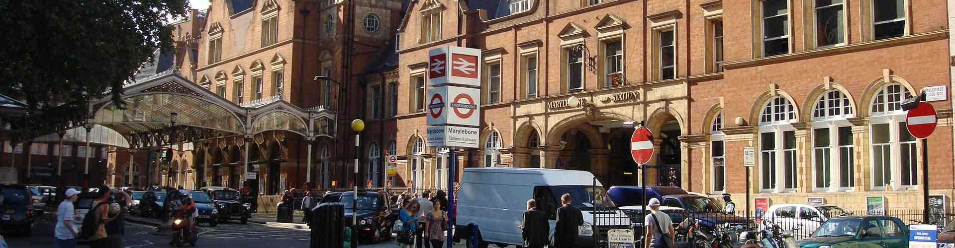 Londres - Albergues en el distrito Marylebone . Mapas de Londres, Fotos y Comentarios para cada Albergue en Londres.