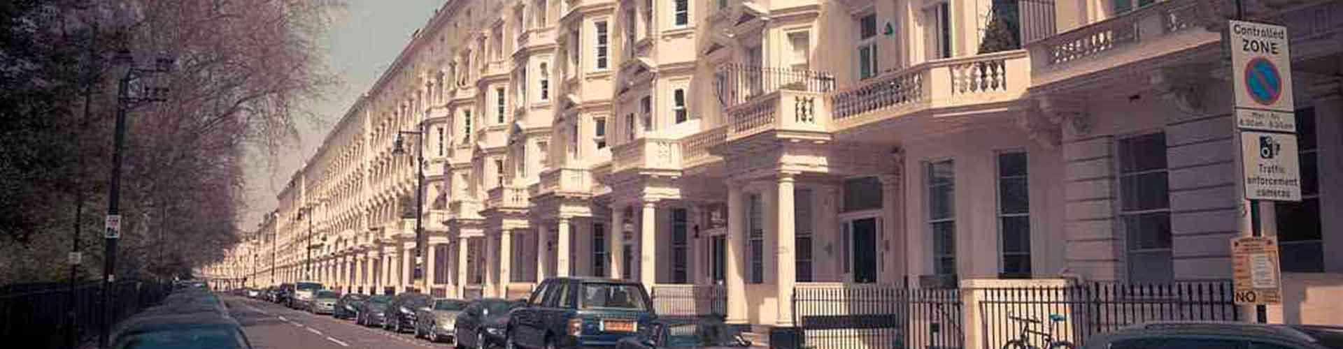 Londres - Albergues en el distrito Pimlico . Mapas de Londres, Fotos y Comentarios para cada Albergue en Londres.