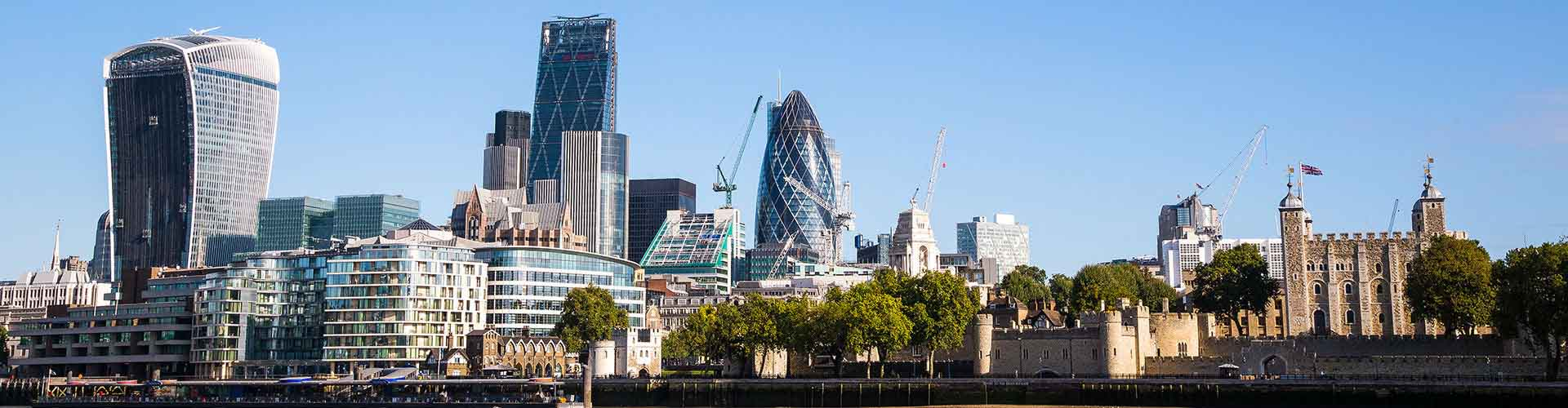 Londres - Albergues cerca a Centro de la Ciudad. Mapas de Londres, Fotos y Comentarios para cada Albergue en Londres.