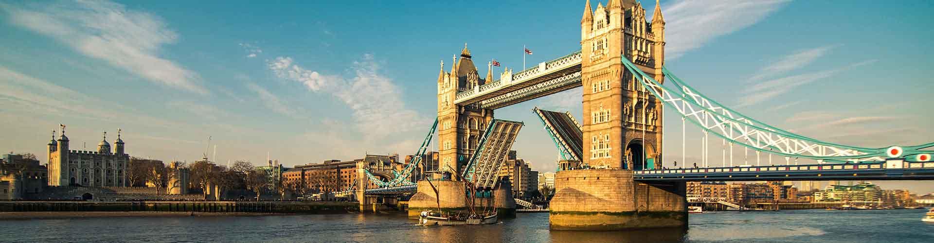 Londres - Albergues cerca a Puente de la Torre. Mapas de Londres, Fotos y Comentarios para cada Albergue en Londres.