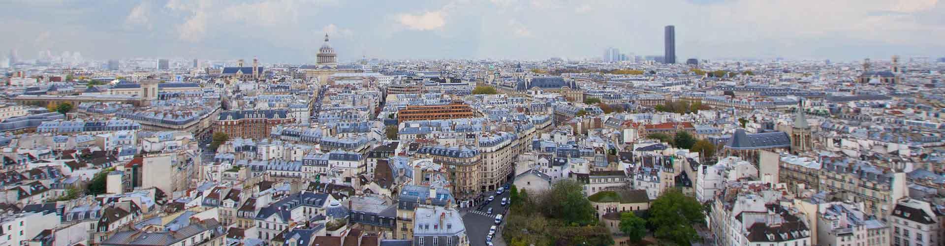 París - Albergues en el distrito Barrio Latino . Mapas de París, Fotos y Comentarios para cada Albergue en París.
