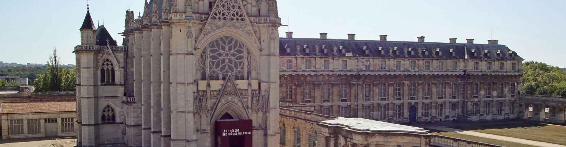 París - Albergues cerca a Sainte-Chapelle. Mapas de París, Fotos y Comentarios para cada Albergue en París.