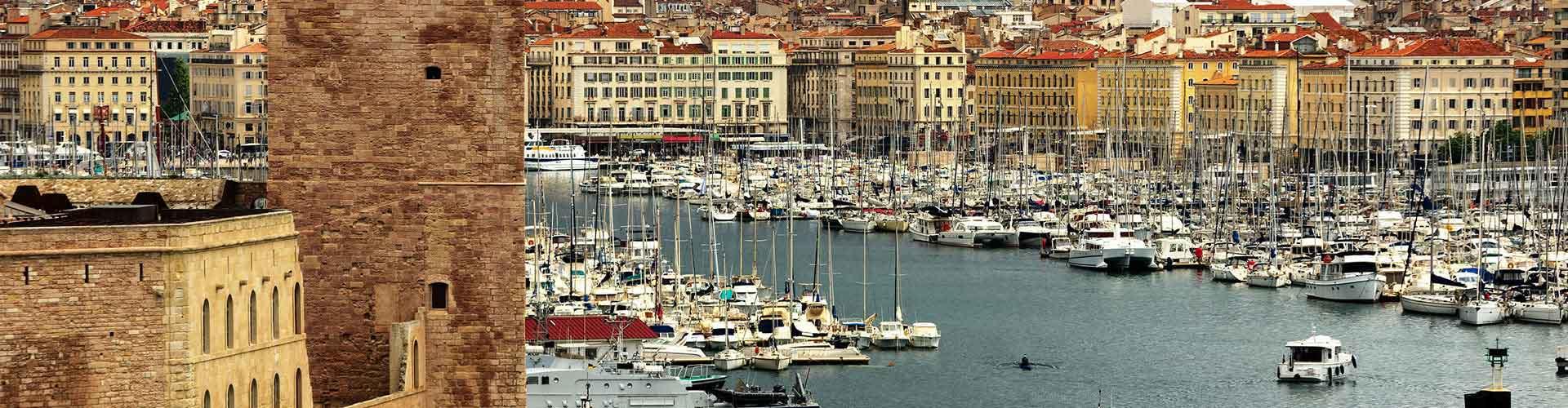 Marsella - Albergues en Marsella. Mapas de Marsella, Fotos y Comentarios para cada Albergue en Marsella.
