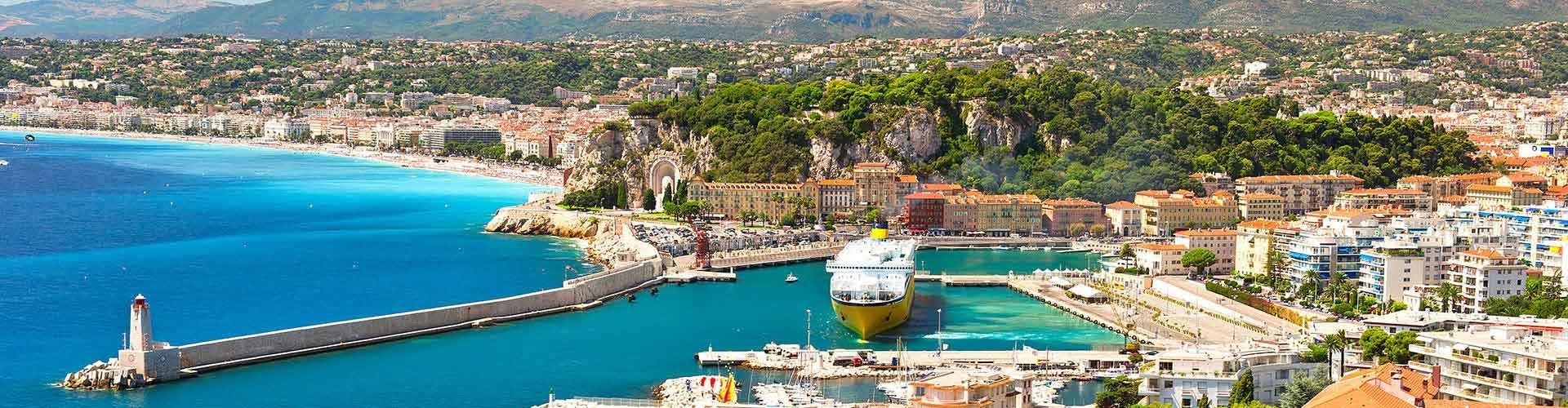 Niza - Albergues en Niza. Mapas de Niza, Fotos y Comentarios para cada Albergue en Niza.