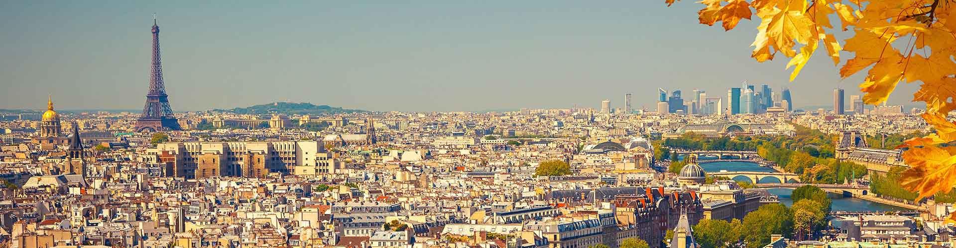 París - Albergues en París. Mapas de París, Fotos y Comentarios para cada Albergue en París.