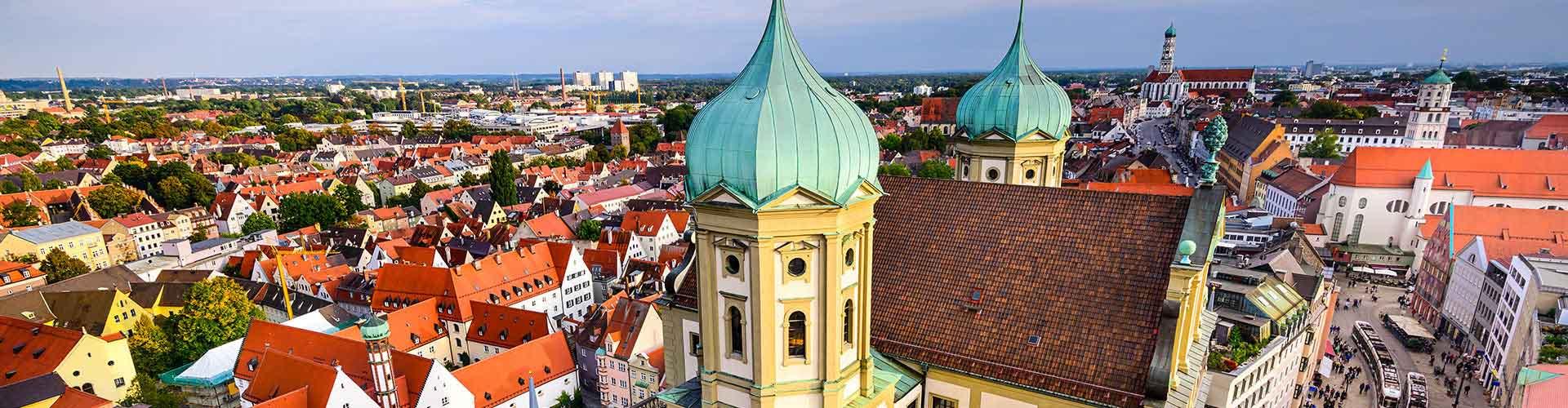 Augsburg - Albergues en Augsburg. Mapas de Augsburg, Fotos y Comentarios para cada Albergue en Augsburg.