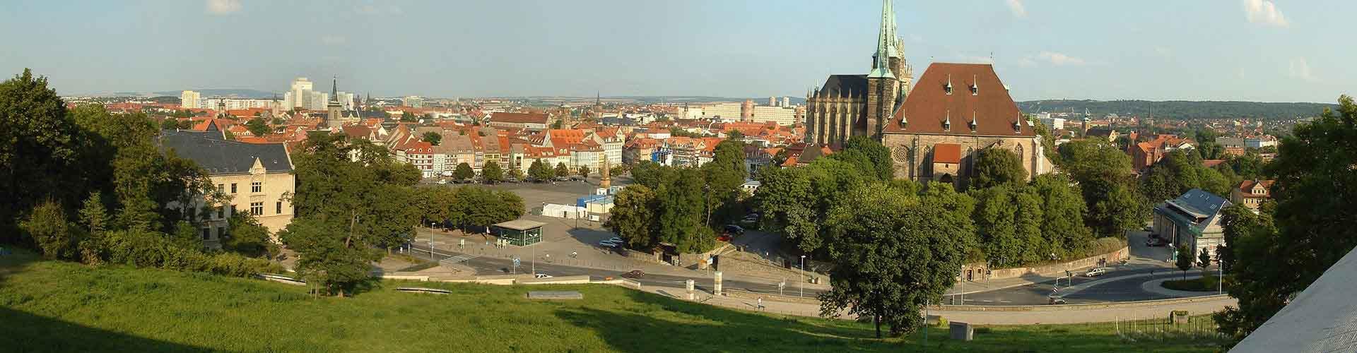 Erfurt - Albergues en Erfurt. Mapas de Erfurt, Fotos y Comentarios para cada Albergue en Erfurt.