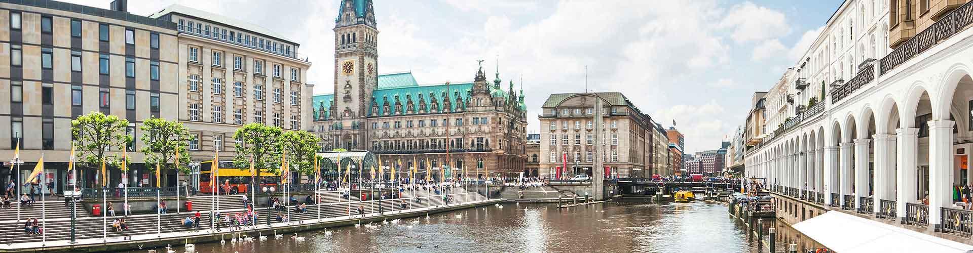 Hamburgo - Albergues baratos en Hamburgo. Mapas de Hamburgo, Fotos y Comentarios para cada hotel en Hamburgo.
