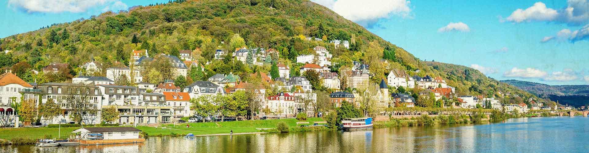 Heidelberg - Albergues baratos en Heidelberg. Mapas de Heidelberg, Fotos y Comentarios para cada hotel en Heidelberg.