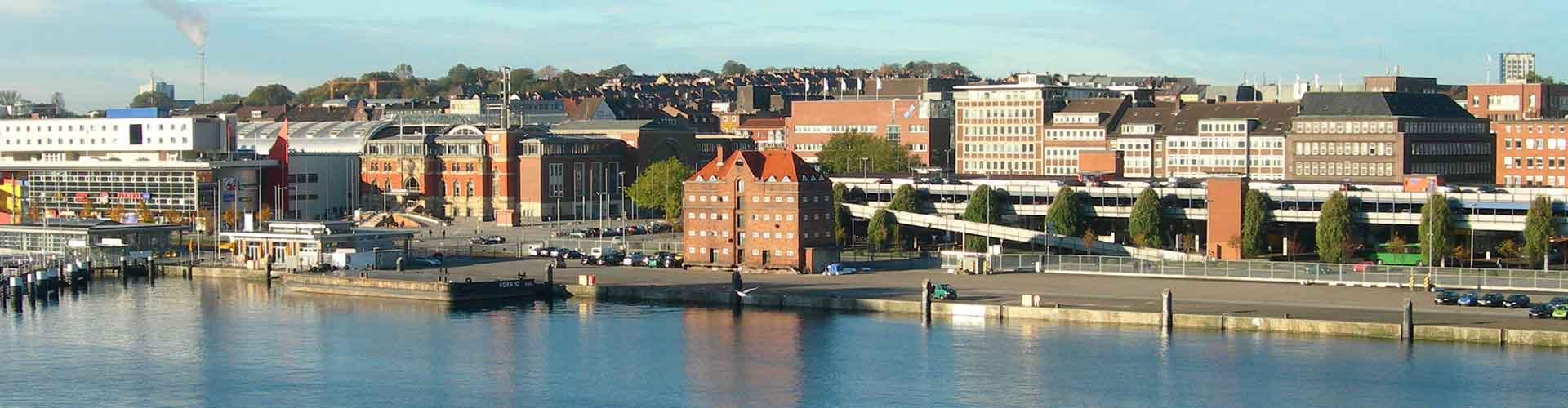 Kiel - Albergues en Kiel. Mapas de Kiel, Fotos y Comentarios para cada Albergue en Kiel.