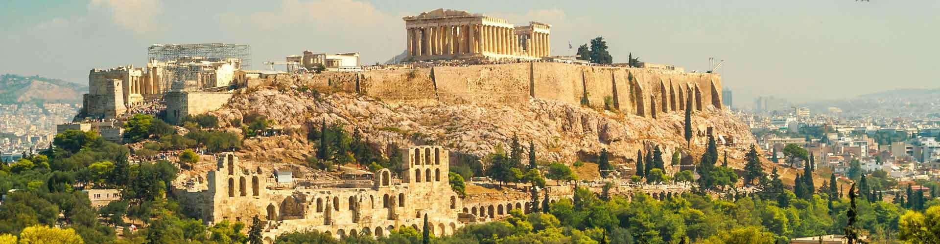 Atenas - Albergues en Atenas. Mapas de Atenas, Fotos y Comentarios para cada Albergue en Atenas.