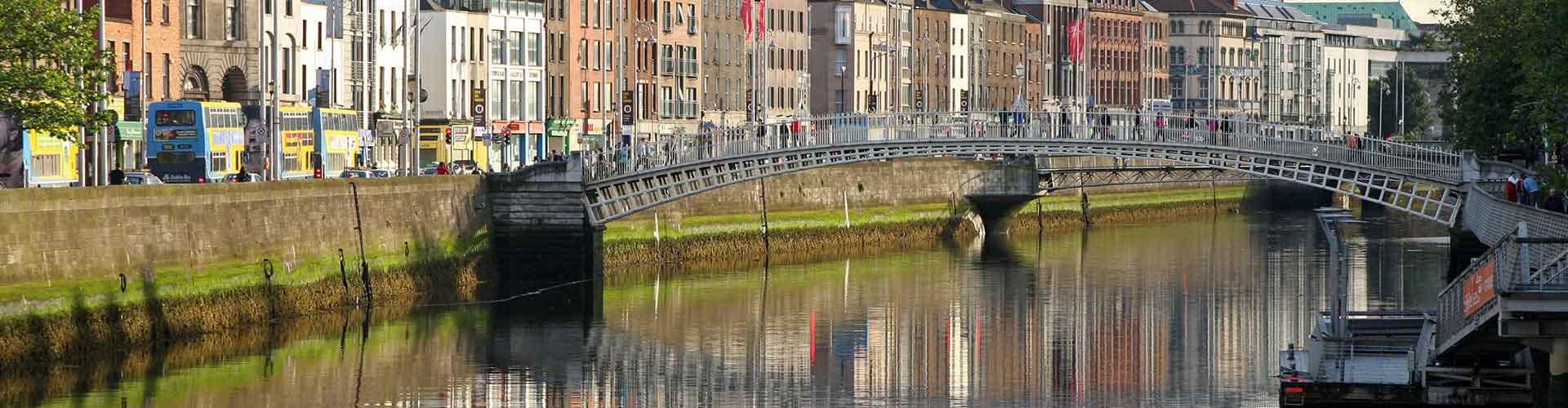Dublín - Albergues en el distrito Centro de la ciudad . Mapas de Dublín, Fotos y Comentarios para cada Albergue en Dublín.