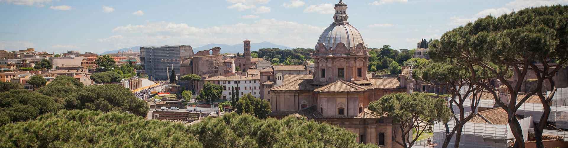Roma - Albergues en el distrito Centro . Mapas de Roma, Fotos y Comentarios para cada Albergue en Roma.