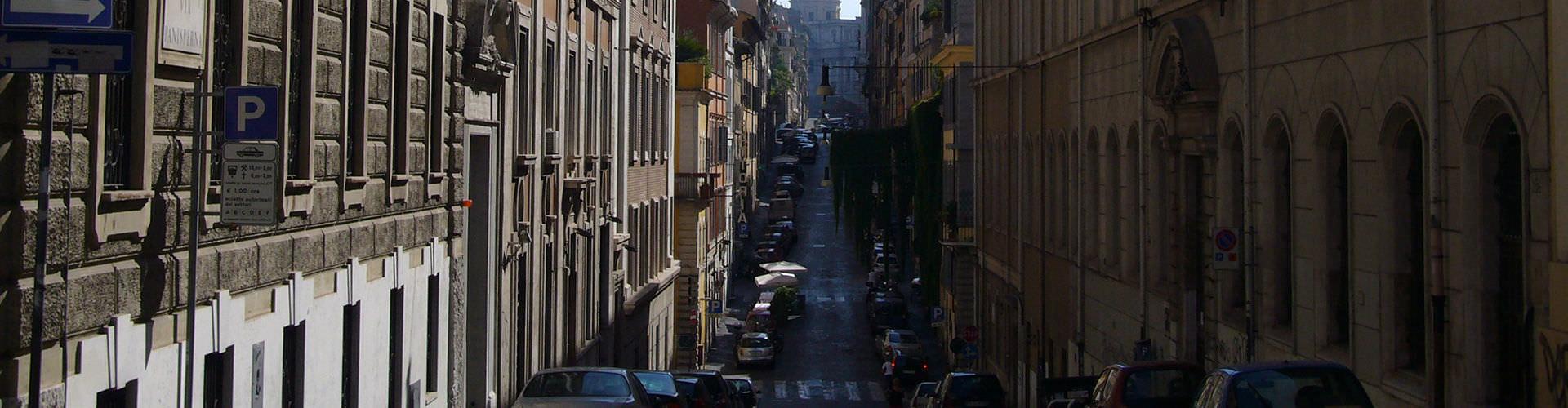Roma - Albergues en el distrito Monti . Mapas de Roma, Fotos y Comentarios para cada Albergue en Roma.