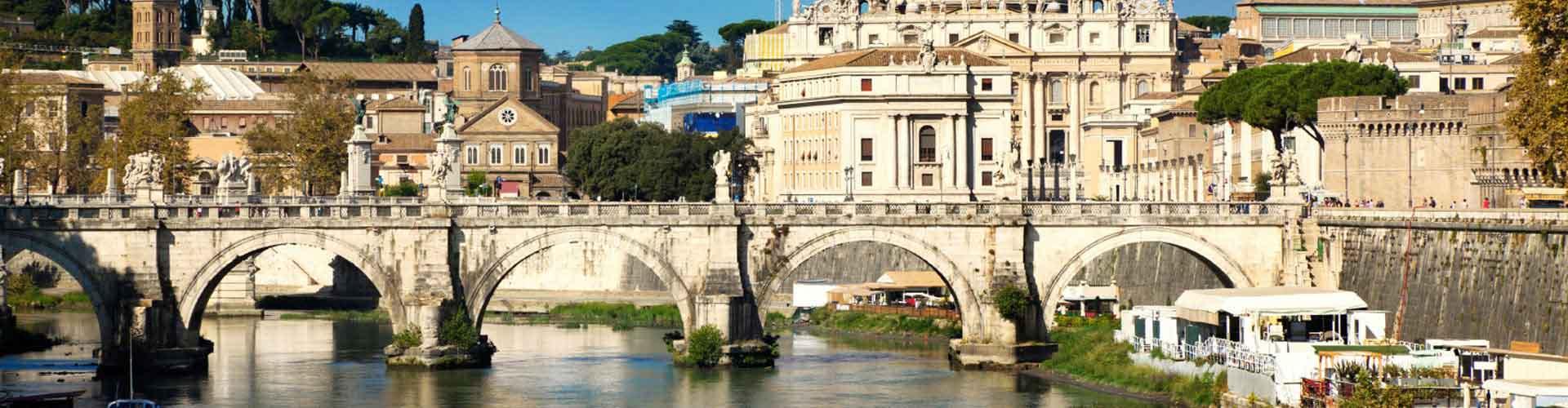 Roma - Albergues cerca a Centro de la Ciudad. Mapas de Roma, Fotos y Comentarios para cada Albergue en Roma.