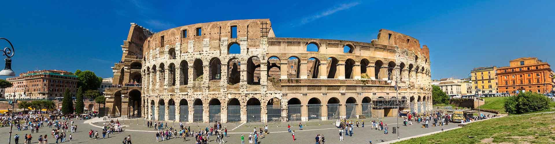 Roma - Albergues cerca a Coliseo. Mapas de Roma, Fotos y Comentarios para cada Albergue en Roma.
