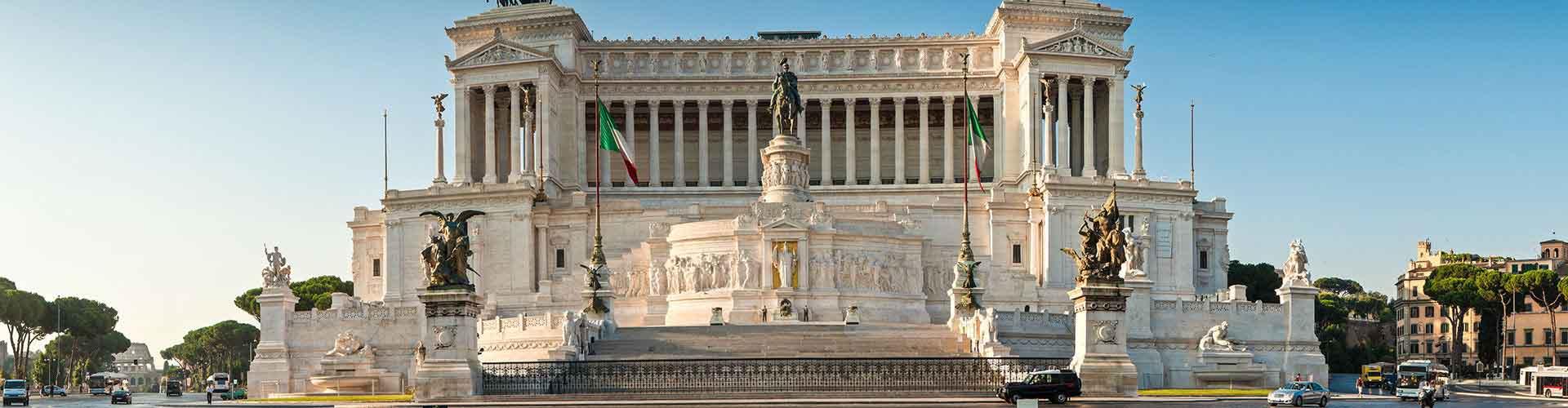 Roma - Albergues cerca a Monumento a Vittorio Emanuele II. Mapas de Roma, Fotos y Comentarios para cada Albergue en Roma.