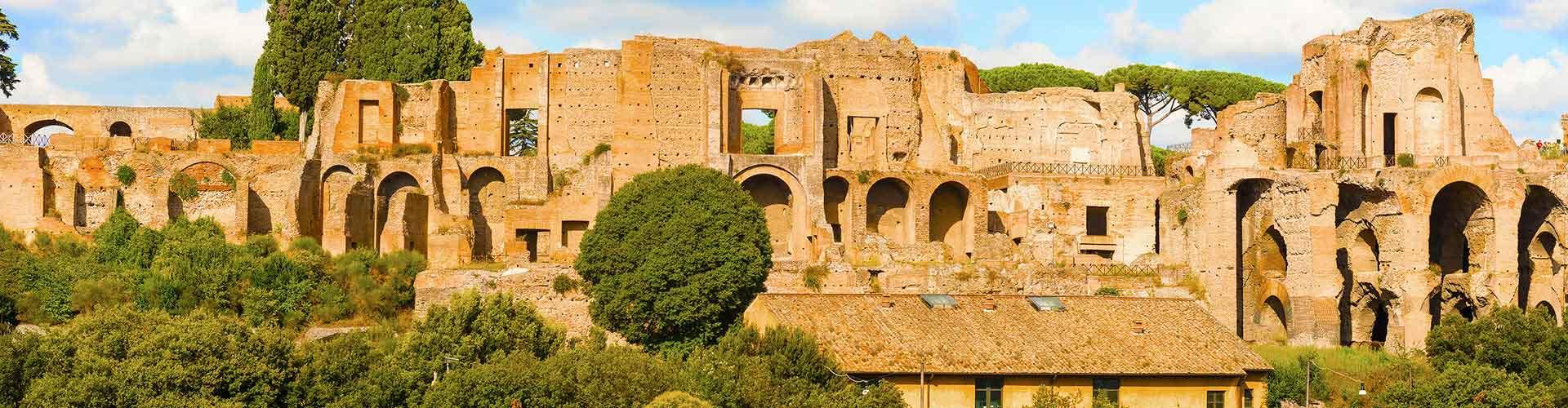 Roma - Albergues cerca a Monte Palatino. Mapas de Roma, Fotos y Comentarios para cada Albergue en Roma.