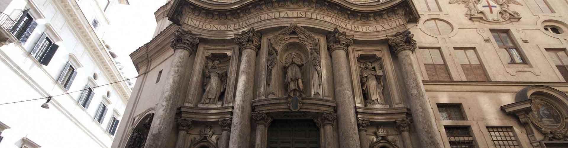 Roma - Albergues cerca a San Carlo alle Quattro Fontane. Mapas de Roma, Fotos y Comentarios para cada Albergue en Roma.