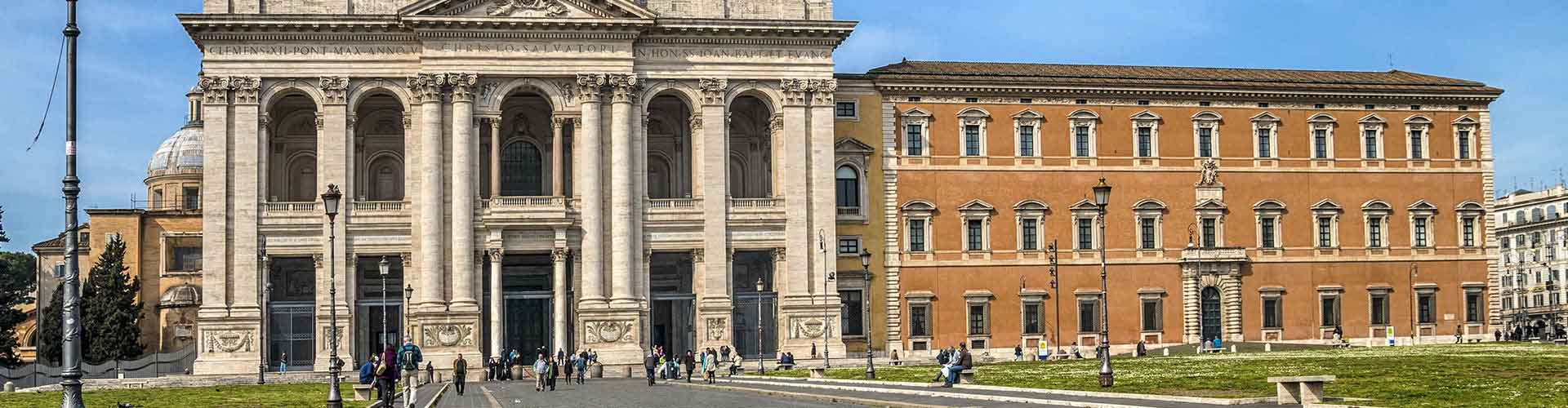Roma - Albergues cerca a San Giovanni in Laterano. Mapas de Roma, Fotos y Comentarios para cada Albergue en Roma.